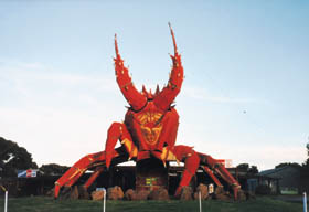 The Big Lobster - Northern Rivers Accommodation