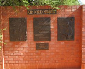 John OBrien Commemorative Wall - Northern Rivers Accommodation