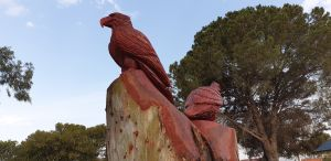 Chainsaw Tree Sculpture - Northern Rivers Accommodation